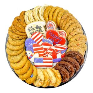 4th of July Cookie Platter
