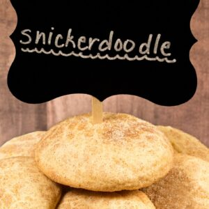 fresh snickerdoodles
