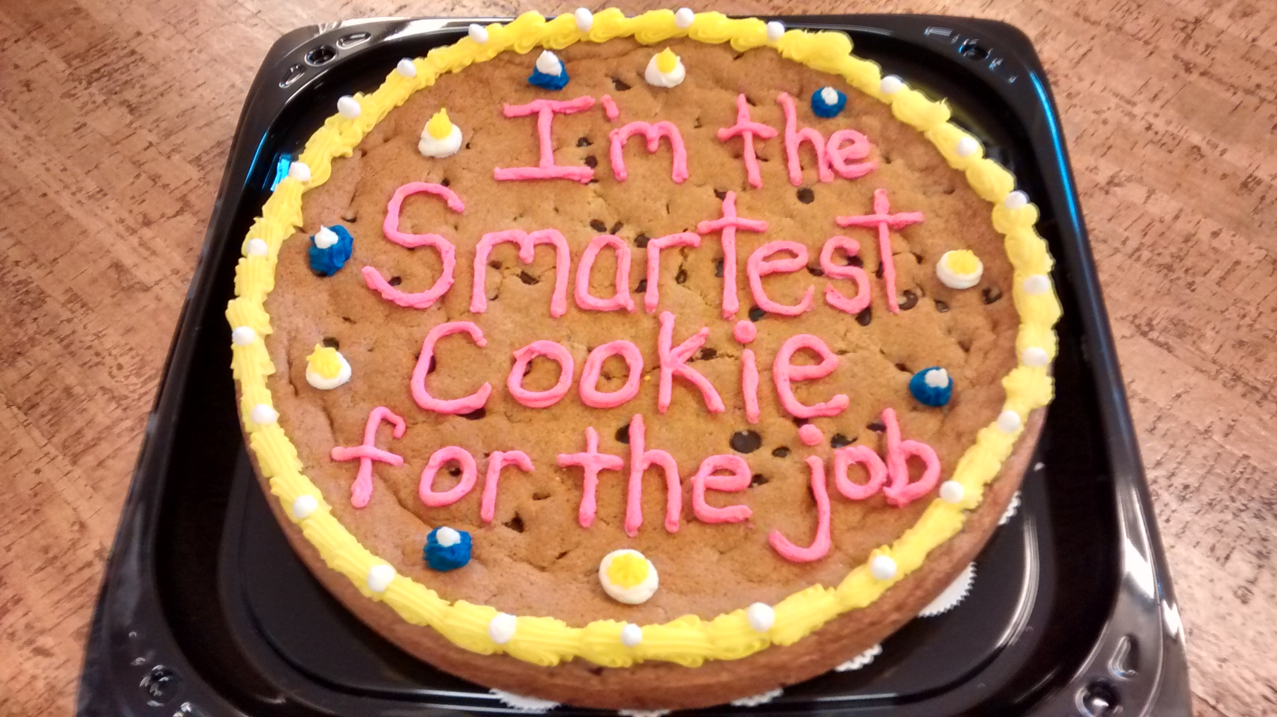 smartest giant cookie